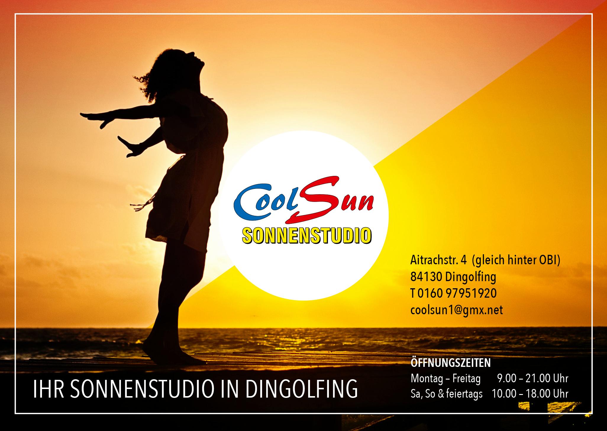 Cool Sun Ihr Sonnenstudio In Dingolfing